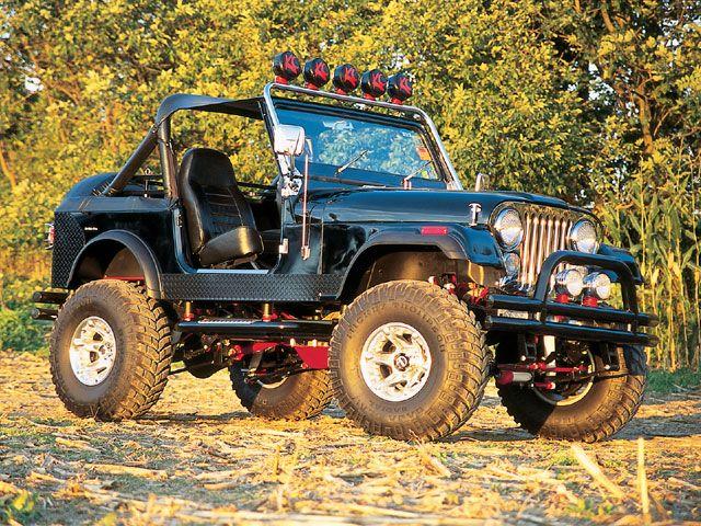 Jeep Body Lifts » Jeep CJ7 Body Lift Kits